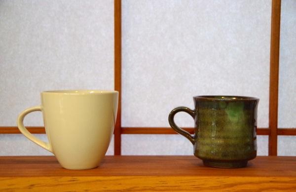 陶器の中では上野焼のうつわは薄作りで軽いんですよ